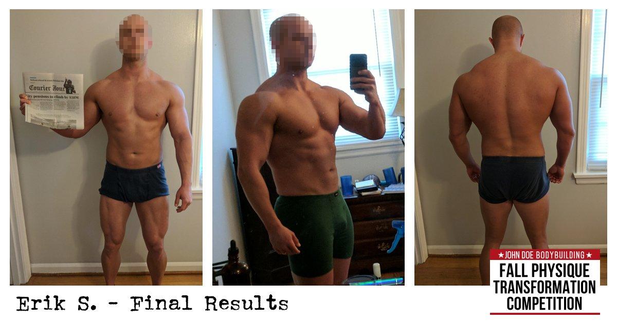 Erik S. Final Results photos